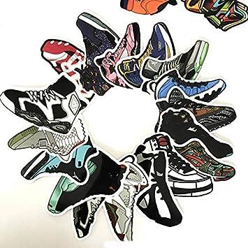DADATU Pegatinas 100pcs / Set De Baloncesto Sneakers Pegatina ...