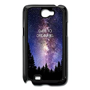 Galaxy Note 2 Cases Dare Dream Big Design Hard Back Cover Cases Desgined By RRG2G by supermalls