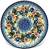 "Polish Pottery Plate - Salad/Dessert (7 3/4"") - Unikat Signature U3099"