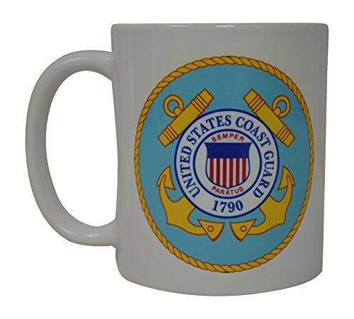 Mug Coast Guard (Coast Guard Coffee Mug United States Veteran American Patriot Novelty Cup Gift Women Men USCG Military)