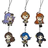 The most lottery Idol Master million live! BELIEVE MY DRE @ M! ! MEMORY G Award rubber strap set of 6