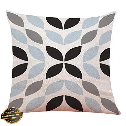 Kaputar Geometric Cotton Pillow Case Waist Throw Cushion Cover Home Sofa Decor Latest Red Geometric#2 | Style PLWCS-182012062