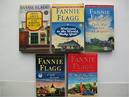 Fannie Flagg Novels Set Of 5 Fried Green Tomatoes At The Whistle