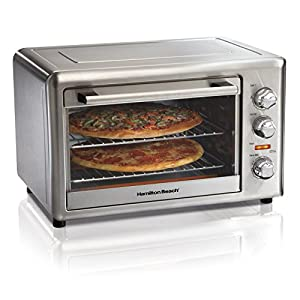 Hamilton Beach 31103DA Countertop Oven with Convection & Rotisserie, Extra-Large, Stainless Steel