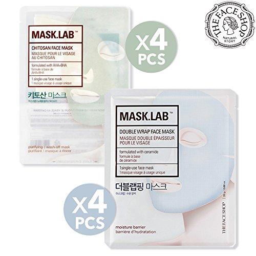 The Face Shop Mask.Lab Double Wrap Premium Facial Sheet Mask