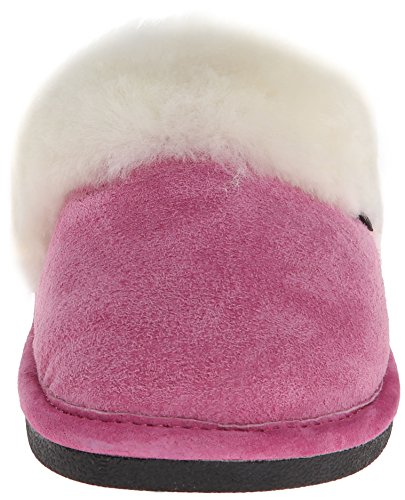Gammel Venn Kvinners 441169 Skrapemerker Saueskinn Tøffel Hot Pink
