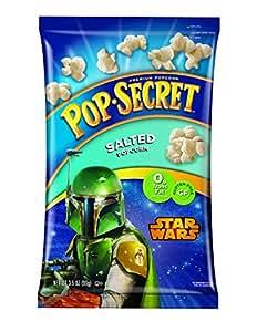 Pop Secret Star Wars Pre Popped Popcorn, Salted, 6 Count
