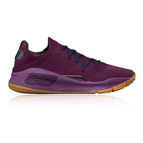 Under Armour - Curry 4 Low Merlot - 3000083500 - El Color: Violeta - Talla