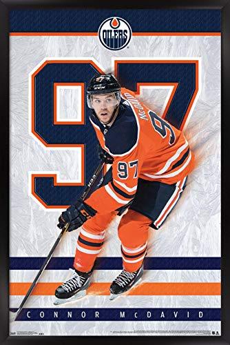 Trends International NHL Edmonton Oilers - Connor McDavid Wall Poster, 14.725