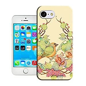 Customize It Protective as Case Flowers and birds#13 Back Cover Case daily for iphone 5s