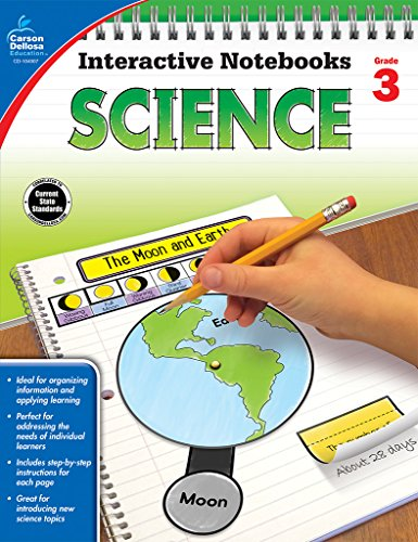 Third Grade Cd - Science, Grade 3 (Interactive Notebooks)