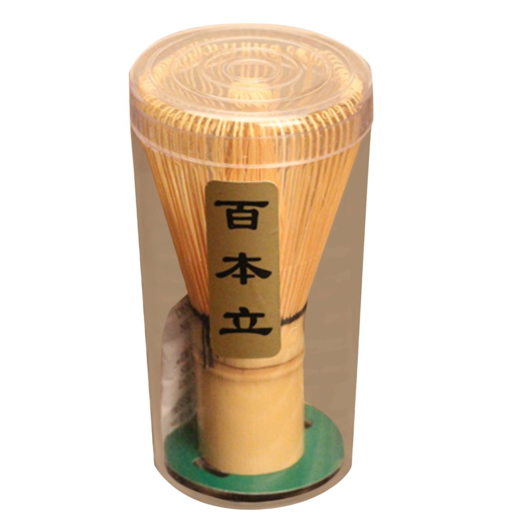 1xTea Ceremony Accessory Bamboo Whisk Matcha Green Tea Chasen 4 Kinds Prongs - Bamboo, 45-50prongs Generic