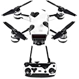 MightySkins Skin For DJI Spark Drone & Controller - Ink Hearts | Protective, Durable, and Unique Vinyl Decal wrap cover | Easy To Apply, Remove, and Change Styles | Made in the USA
