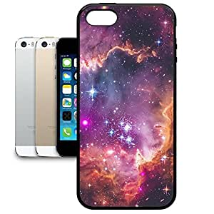 Bumper Phone Case For Apple iPhone 5/5S - Fairytale Galaxy Soft Edge Premium