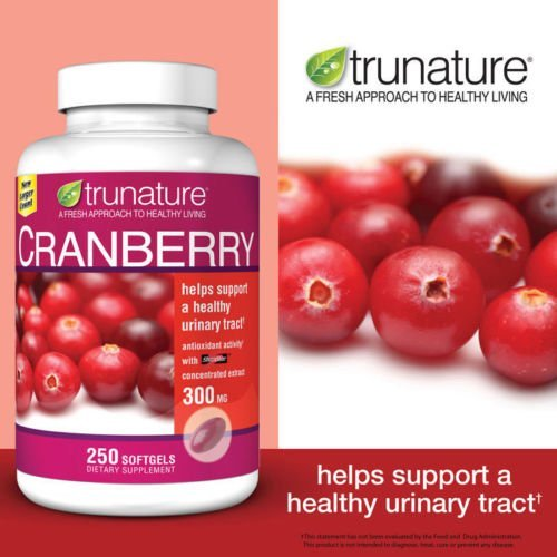 trunature® Cranberry 300 mg, Mega Value Size 2 Pack ( 250 Softgels Each ) Review