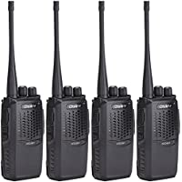 Olywiz HTD825 Long Range Walkie Talkie 2W Handheld GMRS two way radio 16-Channel 4 PACK