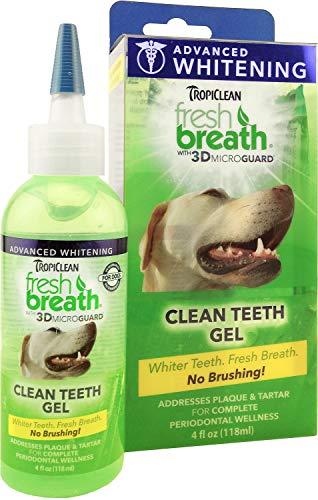 Whitening Clean Teeth Gel TropiClean Fresh Breath Advanced Kit, 4 oz