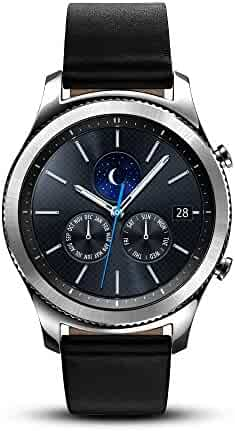 Samsung Gear S3 Classic Smartwatch (Bluetooth), SM-R770NZSAXAR US Version with Warranty (Certified Refurbished)