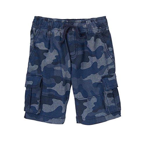 Gymboree Boys' Slate Camo Cargo Shorts 4 ()