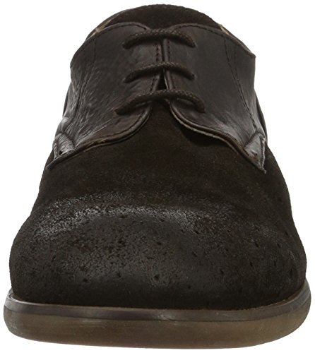 Hudson London Rogers Suede Brown, Scarpe Basse Uomo marrone
