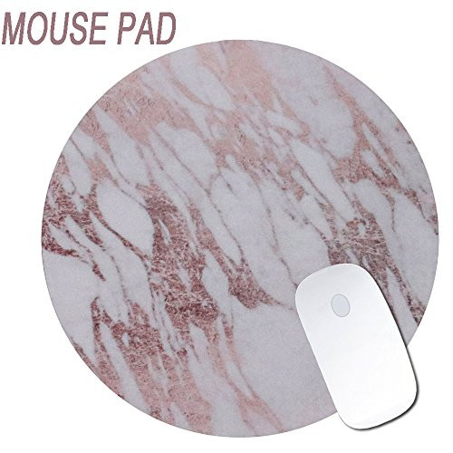 GreenElec Marble Design Mouse Pad Non-Slip Rubber Base Firmiy Super Smooth Surface Mouse Mat for Computer, Home, Office & Travel