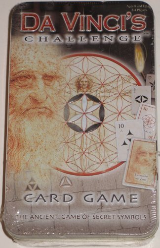 DaVinci's Challenge Card Game  The Anceint Game of Secret Symbols (Tin) by Briarpatch
