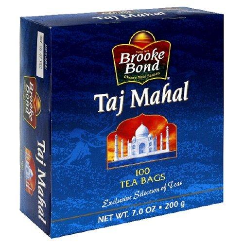 Brooke Bond Taj Mahal Tea Bags, 100 Count , 7 Oz (Pack Of 12) by Brooke Bond