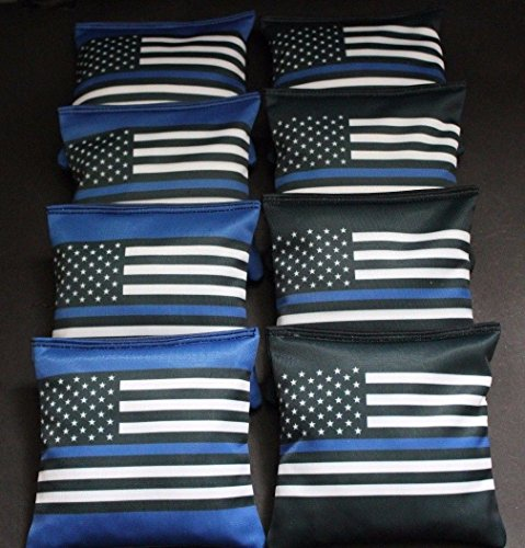 BackYardGamesUSA BLUE LIVES MATTER Police US Blue Line FLAG 8 ACA...
