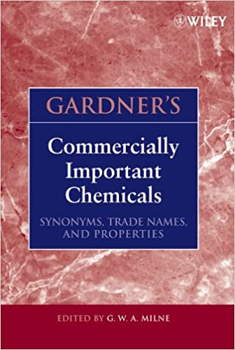 Buy Gardner′s Commercially Important Chemicals: Synonyms, Trade