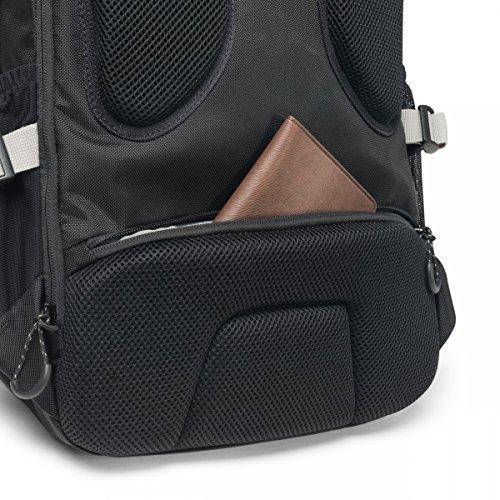 Dicota D31048 Rucksack ACTIVE 35,56-39,62 cm (14-15,6 Zoll schwarz/gelb