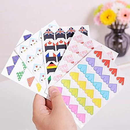 Amazon.com: TREGIA Joylong - Bonitas pegatinas de papel para ...