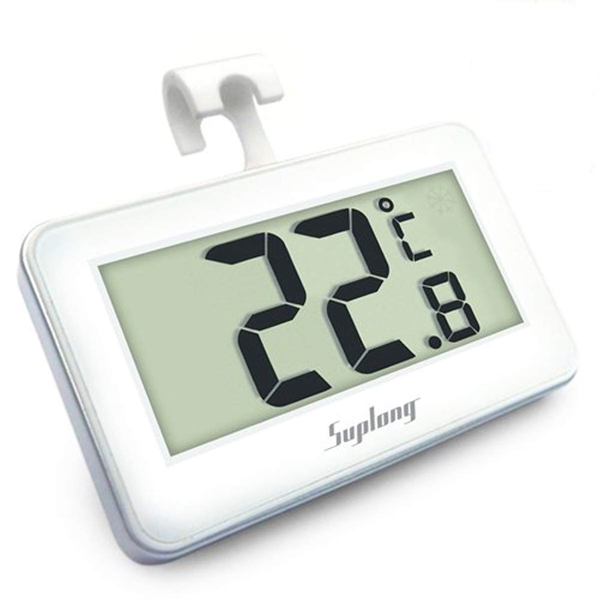 Fridge Thermometer Digital Refrigerator Thermometer, Suplong Digital Waterproof Fridge Freezer Thermometer With Easy to Read LCD Display AIGUMI