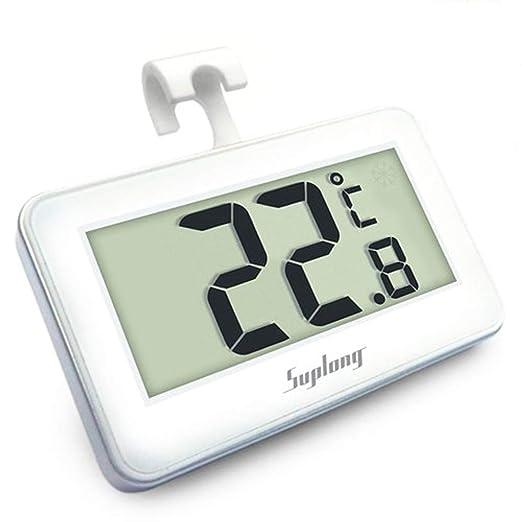 Termómetro del refrigerador, AIGUMI termómetro impermeable del ...