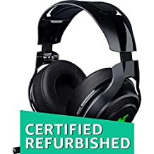 Razer Mano`War Wireless 7.1 Surround Sound Chroma Headset Black (Certified Refurbished)