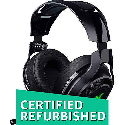 - Razer Mano`War Wireless 7.1 Surround Sound Chroma Headset Black (Renewed)