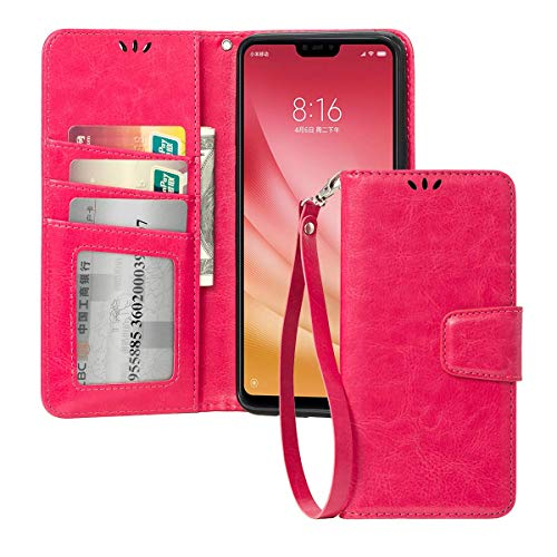 Shemax Case Silicone for Xiaomi mi8 Lite/Xiaomi Mi 8 Youth,Scratch Protection Natural Form Smartphone Cover for Xiaomi Mi 8X-Pink ()