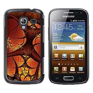 Caucho caso de Shell duro de la cubierta de accesorios de protección BY RAYDREAMMM - Samsung Galaxy Ace 2 I8160 Ace II X S7560M - Blood Vessels Micro Cosmos Art Human Body