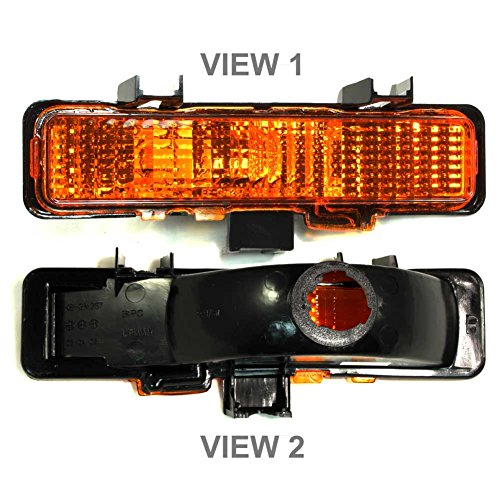APDTY 915706 Turn Signal Park Parking Side Marker Lamp Light Assembly Fits Front Right 1983-1994 Chevy S10 Blazer 1982-1993 S10 1983-1994 GMC S15 Jimmy 1982-1993 S15 Sonoma 1991-1994 Olds Bravada ()