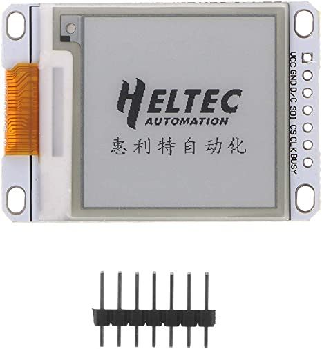 1.54 Inch E-Paper Module E-Ink Electronic Display Screen Black White Color SPI