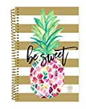 """bloom daily planners 2019 Calendar Year Day Planner - Passion/Goal Organizer - Monthly and Weekly Dated Agenda Book - (January 2019 - December 2019) - 6"""" x 8.25"""" - Pineapple"""