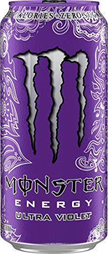Monster Energy Ultra Violet, Sugar Free Energy Drink, 16 Ounce (Pack of 24) by Monster Energy (Image #2)