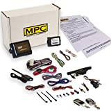 Complete 2-Way LCD Remote Start Kit With Keyless Entry and Data Module For 2009-2010 Ford Flex
