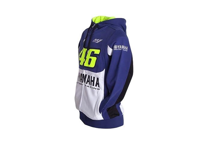 Valentino Rossi VR46 M1 Yamaha Racing MotoGP sudadera con capucha oficial 2016: Amazon.es: Deportes y aire libre