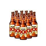 Cerveza Ambar Dos Equis 24 Pack Botella 355 Ml