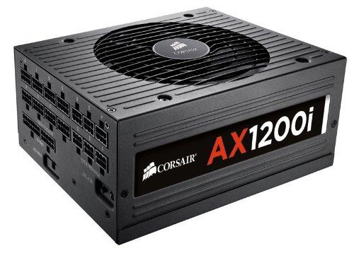 CORSAIR AXi Series, AX1200i, 1200 Watt, 80+ Platinum Certified, Fully Modular - Digital Power Supply by Corsair