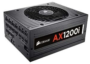Corsair AXi Series, AX1200i, 1200 Watt (1200W), Fully Modular Digital Power Supply, 80+ Platinum Certified