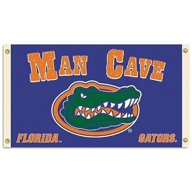 NCAA Florida Gators Man Cave Flag with 4 Grommets, 3 x 5-Feet