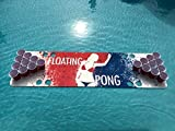 Splash Pong Foam Beer Pong Table - 6ft, Foam, All Weather, Portable - Floats Anywhere