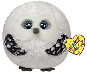 Ty Beanie Ballz Hoots Owl Plush by Ty Beanie Ballz