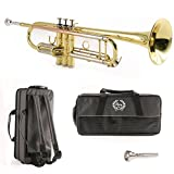 Legacy Intermediate Trumpet TR750 with Deluxe Convertible Case and 2 Year Warranty